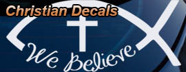 Christian Car Decals