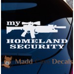My Homeland Security Decal