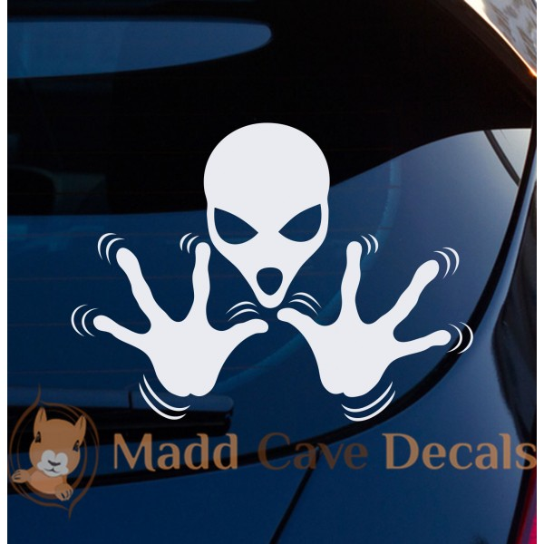 Aliens Mind Control Decal