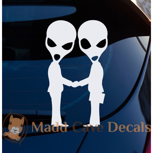 Aliens Suits Decal