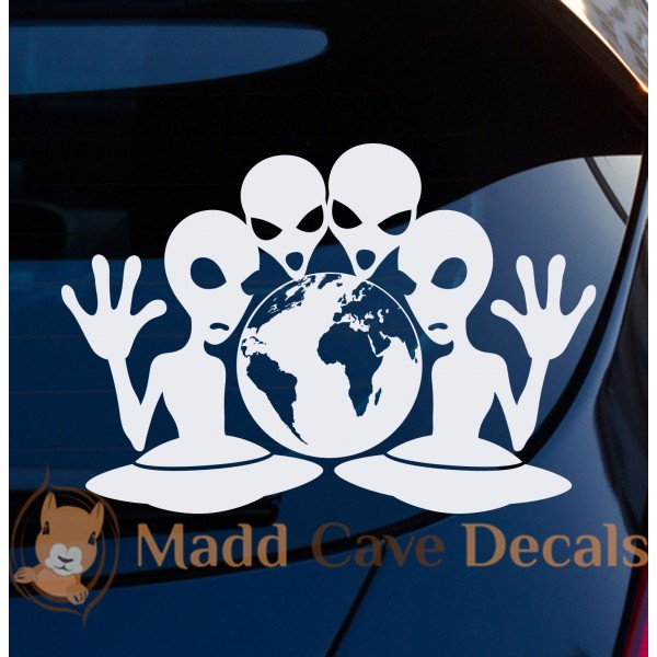 Aliens World Conquest Decal