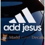 Add Jesus - Vinyl Decal