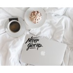 Never Give Up - Inspirational Decal
