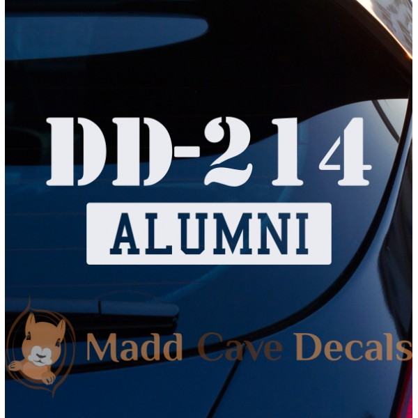 DD-214 Alumni Decal