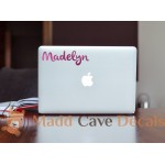 Glitter Custom Name Decal