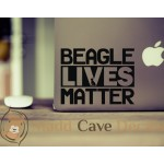 Peace Love Beagle Decal