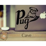 Pug Head Decal
