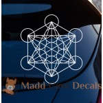 Metatron's Cube Sacred Geometry Decal