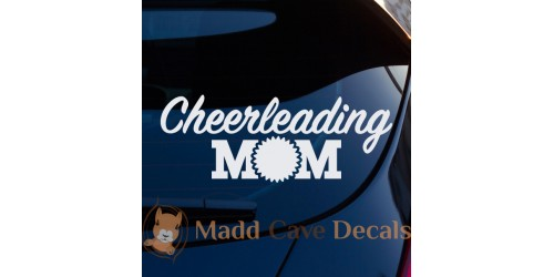 Cheerleading Decals
