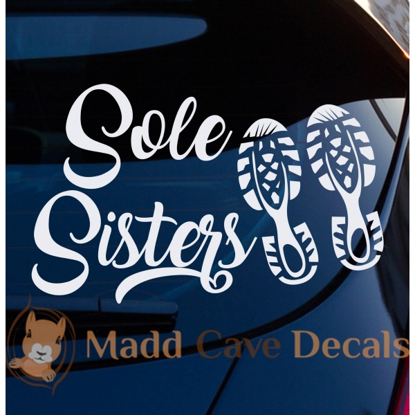 Sole Sisters Running Decal
