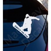 Skiing & Snowbaording Decals (11)