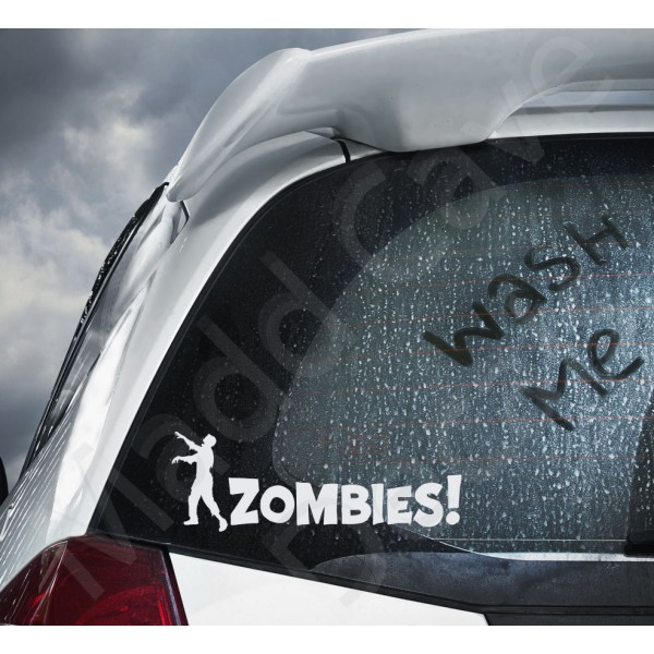 Zombies! Decal