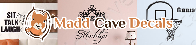 Madd Cave Decals