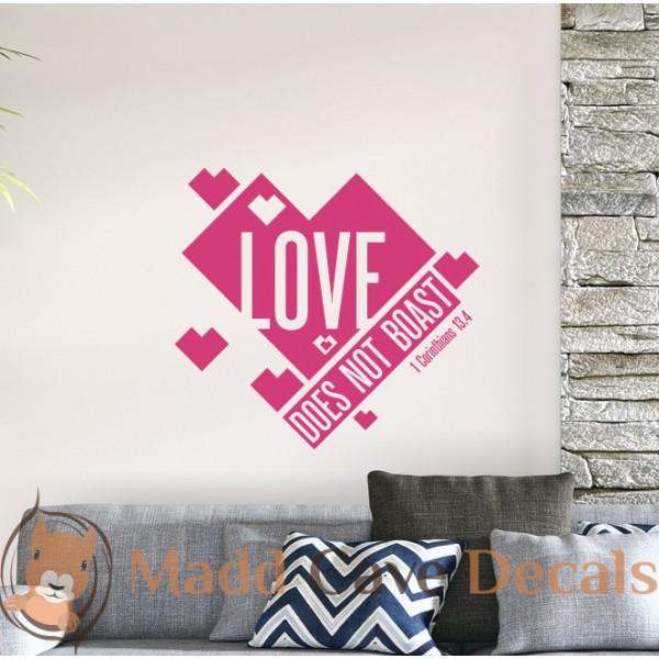Love Does Not Boast - 1 Corinthians 13:4