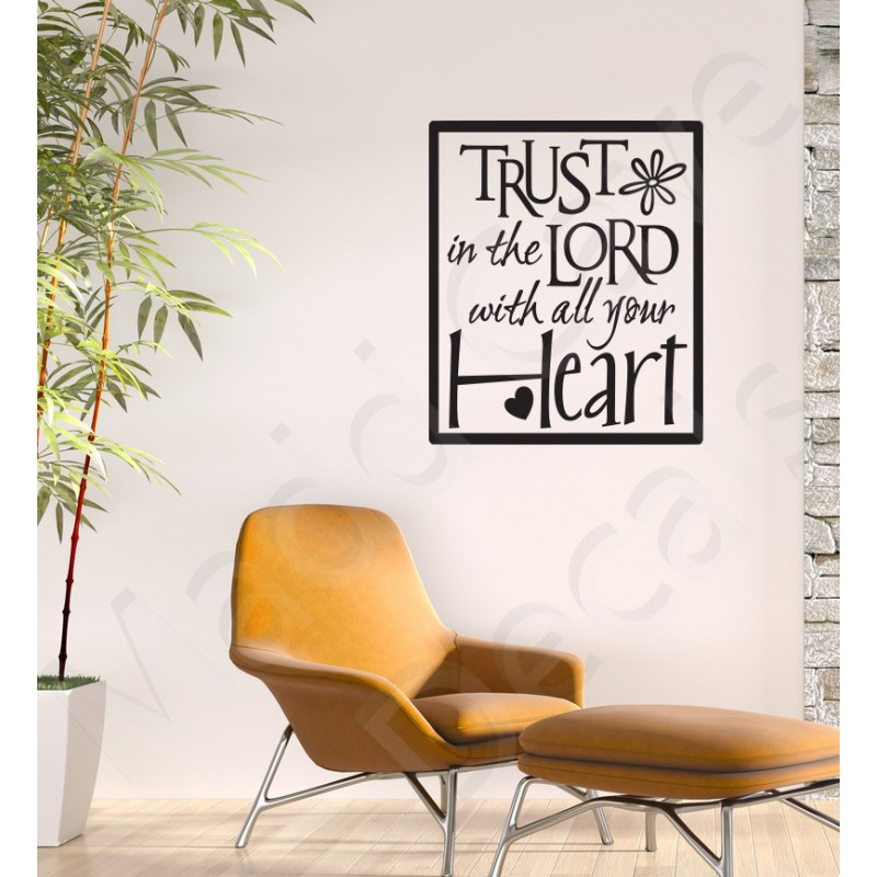 The Lord S Love Wall Decal: Christian Wall Decal