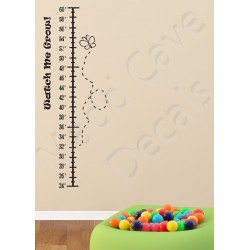 Growth Chart Wall Decal Erfly