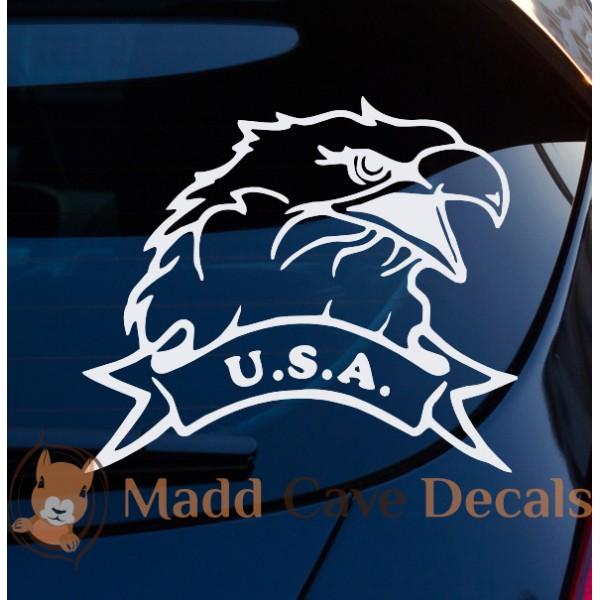 USA Bald Eagle decal