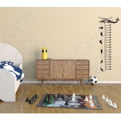 Growth Chart Wall Decals (8)