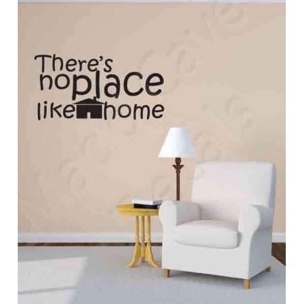Wall Decal - No Place Like Home