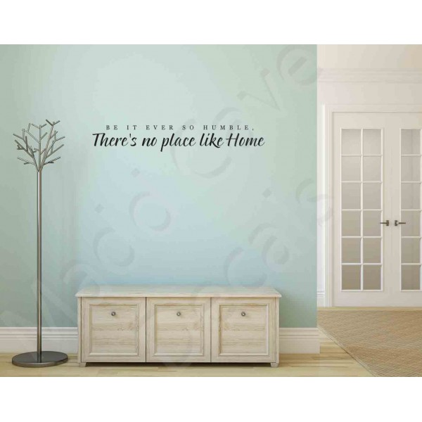 Wall Decal - No Place Like Home 2