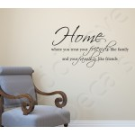 Wall Decal - Treat Family Like Friends
